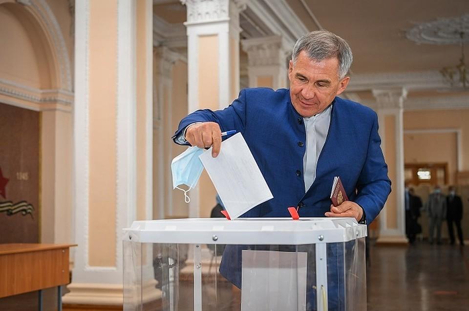 В Татарстане стартовало голосование по поправкам в Конституцию РФ 2020