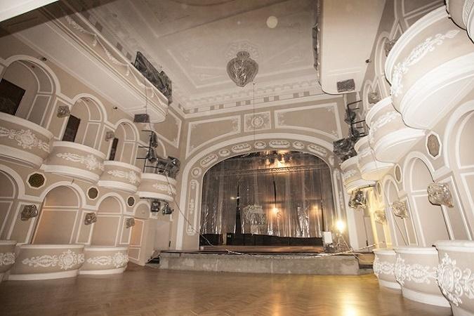 Качаловский театр открывает